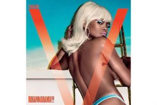 Rihanna Looks Hot On The Cover Of 'V' Magazine's Summer 2015 Issue: 7 Semi-NSFW Photos