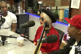 Rita Ora And Charles Hamilton Speak Out On 'The Breakfast Club': Watch The Interview