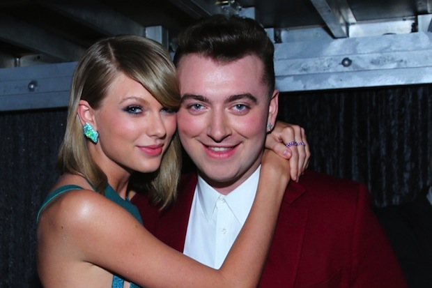 Taylor swift sam smith 2015 grammys