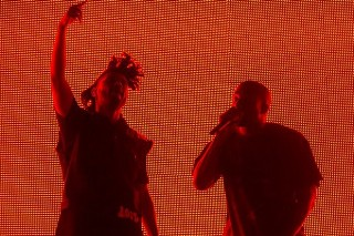 Coachella 2015: Kanye West Makes A Surprise Appearance At The Weeknd's Set