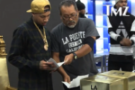 Tyga Gets Served Legal Papers At His Sneaker Party: Morning Mix