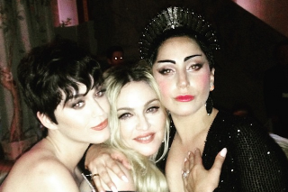 The Feud Has Ended: Madonna, Lady Gaga & Katy Perry Pose Together At Met Gala 2015