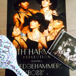 Win Fifth Harmony Signed Poster, CD & Mirror!