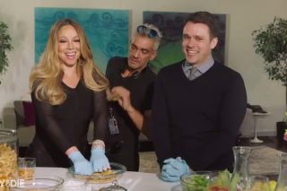 Mariah Carey Cooks Frito Pie In Funny Or Die Sketch: Watch