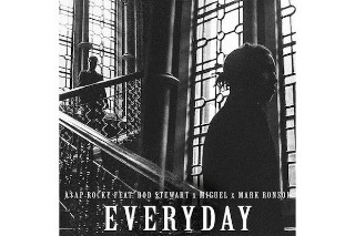 "A$AP Rocky Releases ""Everyday"" Featuring Rod Stewart, Miguel & Mark Ronson: Listen"