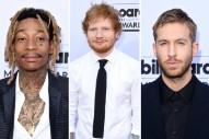 Billboard Music Awards 2015: Ed Sheeran, Wiz Khalifa, Calvin Harris & The Rest Of The Dudes Of The Red Carpet