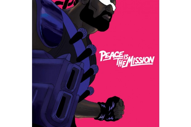 Major Lazer Peace Is The Mission diplo album cover art
