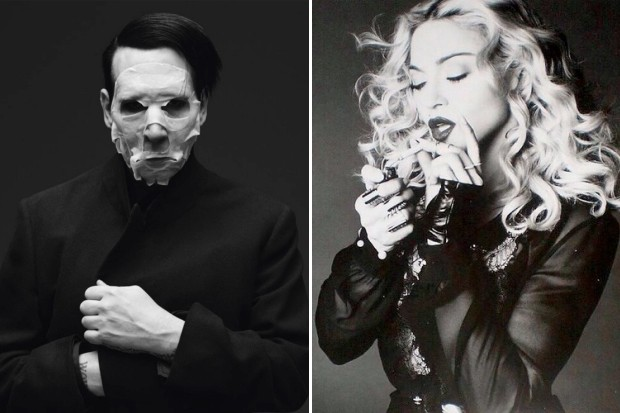 Marilyn Manson fornicate fuck Madonna