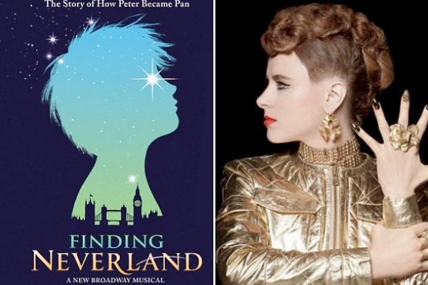 Finding Neverland Kiesza Stronger concept album Gary Barlow Broadway