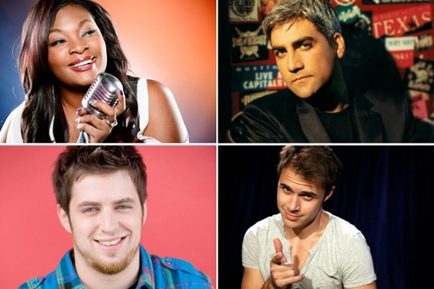 Candice Glover Taylor Hicks Lee DeWyze Kriss Allen American Idol