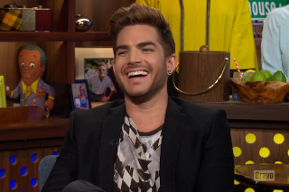 "Adam Lambert Talks His ""Ghost Town"" Single Versus Madonna's ""Ghosttown"" On 'Watch What Happens Live'"