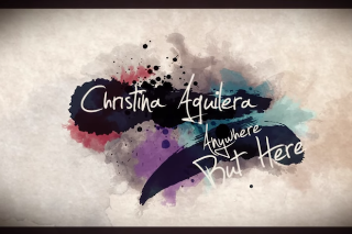 """Christina Aguilera's """"Anywhere But Here"""" Gets A Lyric Video: Watch"""