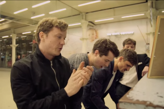 "Citizens! Perform ""Uptown Funk"" Live in London: Idolator Premiere"