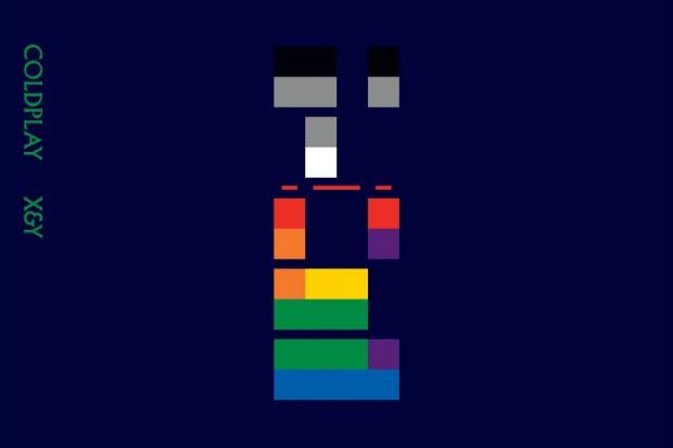 coldplay x y album cover art