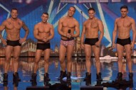 Watch Five Male Strippers Lose Their Clothes & Shock Simon Cowell On 'Britain's Got Talent'