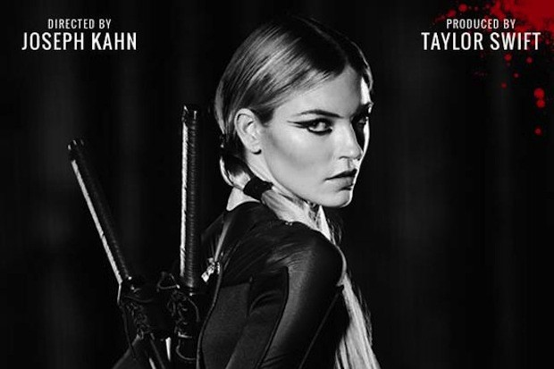 martha-hunt-bad-blood-video-taylor-swift-poster