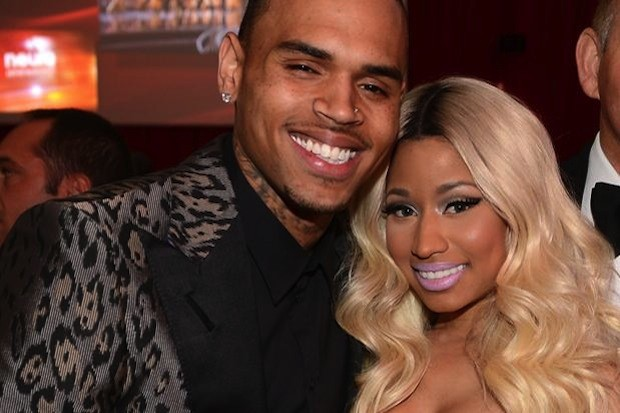 nicki-minaj-chris-brown-cute