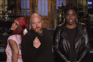 Louis C.K. Thinks Rihanna Is His Girlfriend In 'Saturday Night Live' Promo: Watch