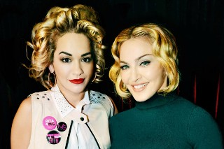Madonna Is Collaborating With Long-Time Supporter Rita Ora According To A British Tabloid