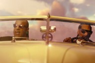 "Watch Snoop Dogg & Stevie Wonder Drive A Flying Car In ""California Roll"" Video"