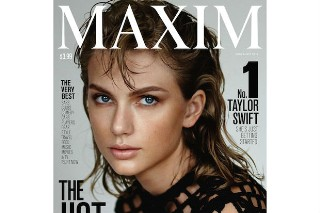 Taylor Swift Tops 'Maxim' Magazine's Hot 100 List For 2015