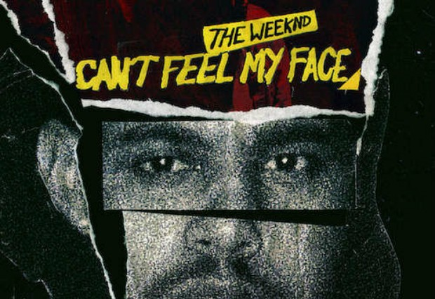 the weeknd i cant feel my face cover art