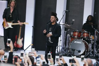 "The Weeknd Teams Up With Max Martin For ""I Can't Feel My Face"": Listen"