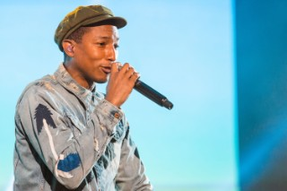 "Pharrell Debuts Unreleased N.E.R.D. Song ""Locked Away"": Listen"