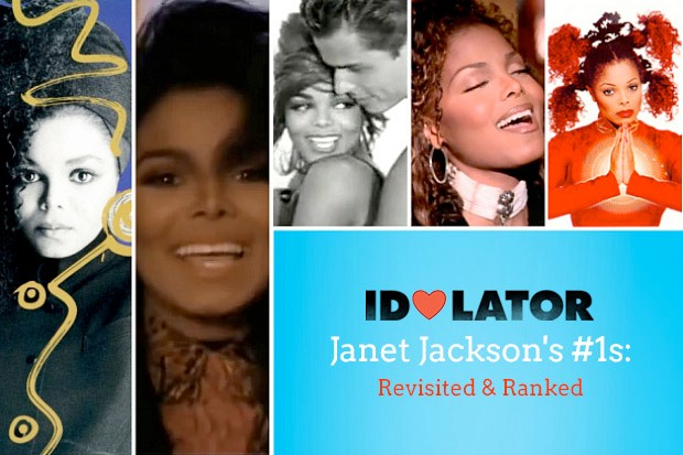 Idolator Janet Jackson #1s number ones chart hits reviewed ranked list