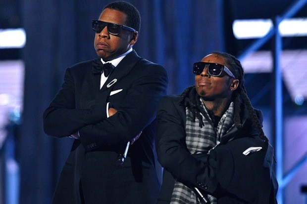 Jay-Z-Lil-Wayne-51-Annual-Grammys