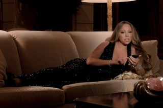 "Mariah Carey's ""Infinity"" Video Is One Big Ad For Her Vegas Show, Match.com & Her Boobs: Watch"