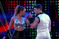 'I Can Do That': Nicole Scherzinger And Joe Jonas Rollerskate To Victory