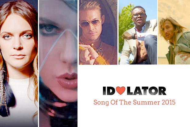 Song Of The Summer 2015 Idolator Tove Lo Taylor Swift Major Lazer OMI David Guetta