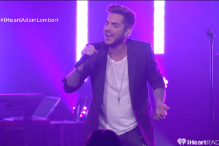 Adam Lambert Rocks The NYC Crowd At iHeartRadio Theater: Watch The Concert
