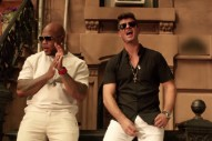 "Flo Rida And Robin Thicke Throw A Block Party In Their ""I Don't Like It, I Love It"" Video: Watch"