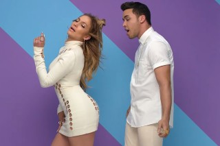 "Prince Royce Parties With Jennifer Lopez And Pitbull In Vibrant ""Back It Up"" Video: Watch"