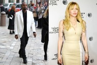 Kanye West, Courtney Love Got Caught In Paris Anti-Uber Riots