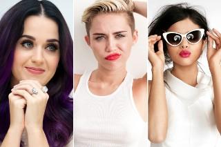 Miley Cyrus, Katy Perry And Selena Gomez Sang Karaoke Together Last Night