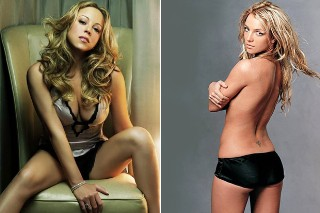 Britney Spears Listened To Mariah Carey's '#1 To Infinity' Album Topless