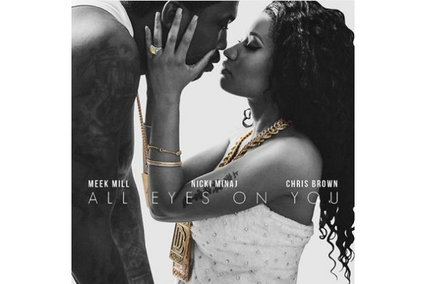 nicki minaj meek mill all eyes on you single art