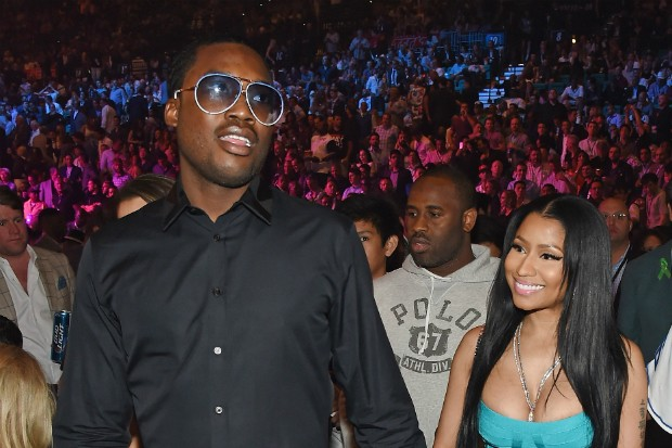 nicki minaj meek mill omeeka couple 2015
