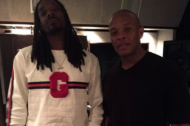 snoop dogg dr dre studio