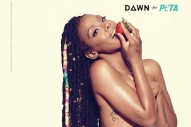 "Dawn Richard Strips For New ""Body By Vegan"" PETA Ad"