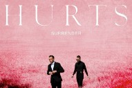 Hurts' 'Surrender' Album Cover Is Pretty In Pink