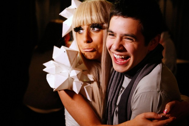 Lady Gaga David Archuleta Z100 Jingle Ball December 2008 Just Dance Poker Face Crush