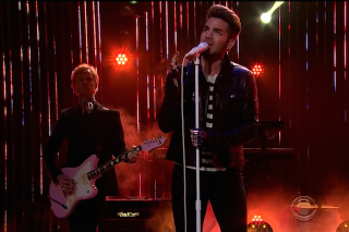 """Adam Lambert Performs """"Ghost Town"""" & A Queen Tribute On 'The Late Late Show With James Corden': Watch"""