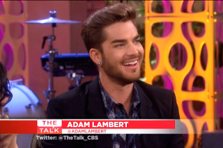 Adam Lambert Discusses 'The Original High' & Touring With Queen On 'The Talk': Watch