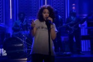 "Watch Alessia Cara's TV Debut With ""Here"" On 'Tonight Show'"