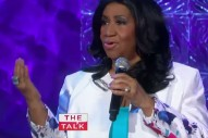 "Aretha Franklin Performs ""I Will Survive"" And ""Chain Of Fools"" On 'The Talk': Watch"