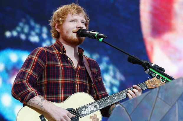 Ed Sheeran Performs At Croke Park In Dublin
